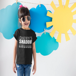 Daddy's shadow/Toddler Short Sleeve Tee
