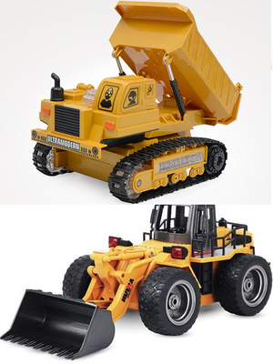 [50% OFF For Christmas Sales]2019 RC Construction Vehicles