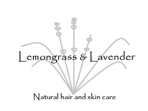 Lemongrass & Lavender Natural hair and skin care logi