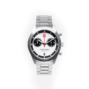 Gran Turismo Watch White/Metal