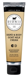 Vanilla Bean Hand & Body Goat Milk Cream