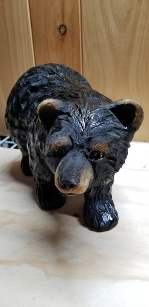 Chainsaw Carved Walking Bear