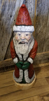 Chainsaw carved Santa