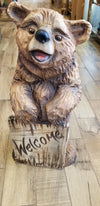 Welcome Bear by Jason