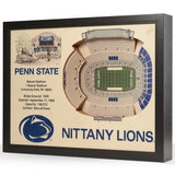 Collegiate 25-Layer StadiumViews 3D Wall Art