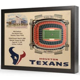 NFL 25-Layer StadiumViews 3D Wall Art