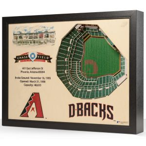 MLB 25-Layer StadiumViews 3D Wall Art