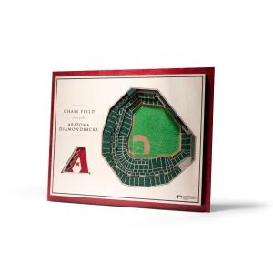 MLB 5-Layer Stadiumview 3D Wall Art
