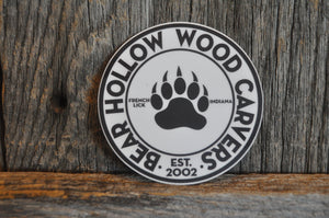 Bear Hollow Woodcarvers Sticker