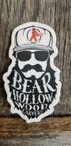 Beard Hollow Sticker