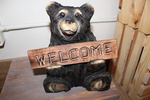 Sitting Welcome Bear