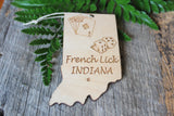French Lick Indiana Gambler Ornament