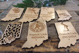 French Lick Indiana Tongue Ornament