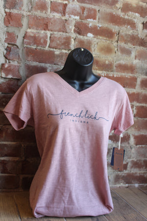 Ladies French Lick Indiana Tee