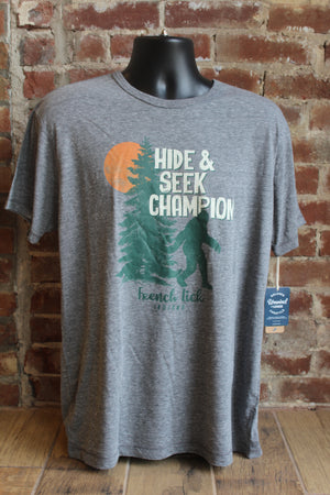 Bigfoot Hide And Seek Champion Tee