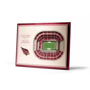 NFL 5-Layer Stadiumview 3D Wall Art