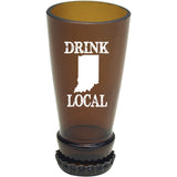 Torched Indiana Drink Local Bottle Neck Shot Glasses