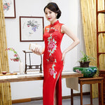 Plus-sized Cheongsam Long Dress