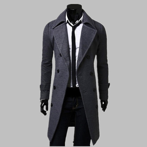 New Trench Coat Men 2019 Jacket