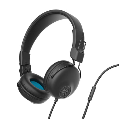 Studio On-Ear Headphones de preto