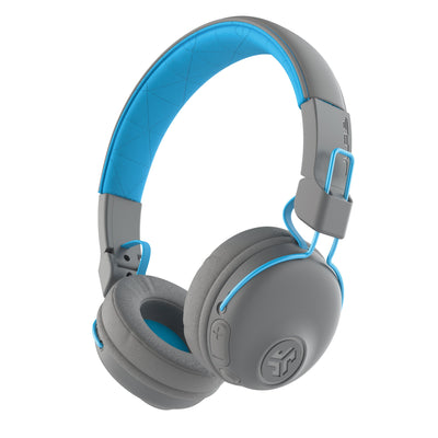 Studio Bluetooth Wireless On-Ear Headphones باللون الأزرق