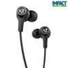 Close-up de preto Epic Executive Earbuds sem fio