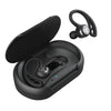 Preto Epic Air Elite True Wireless Fones de ouvido no estojo de carregamento