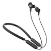 Black Epic Executive Wireless Earbuds with Controls, Neckband, and Cush Fins