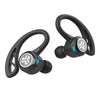 Gros plan de noir Epic Air Sport True Wireless Ecouteurs