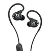 Close-up di nero Fit Sport 3 Auricolari wireless per fitness con pinne Cush