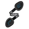 Twisted Headband of Black Flex Sport Wireless Bluetooth Headphones