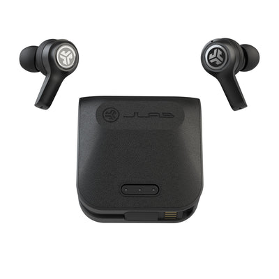 JBuds Air Executive True Wireless Korvakorut kotelolla