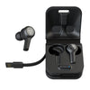 JBuds Air Executive True Wireless Fones de ouvido com estojo e cabo de carregamento