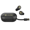 JBuds Air Icon True Wireless Earbuds with charging case and integrated USB cable