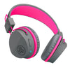 Image of the JBuddies Studio Bluetooth Over Ear Folding Kids Headphones in Pink