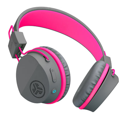Imagen de la JBuddies Studio Bluetooth Over Ear Folding Kids Headphones en rosa
