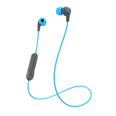 JBuds Pro Bluetooth Signature Earbuds in blue