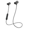 Metal Bluetooth Rugged Earbuds in het zwart