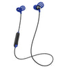 Metal Bluetooth Rugged Earbuds en bleu