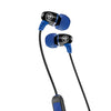 Metal Bluetooth Rugged Earbuds in blue