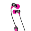 Metal Bluetooth Rugged Earbuds in pink