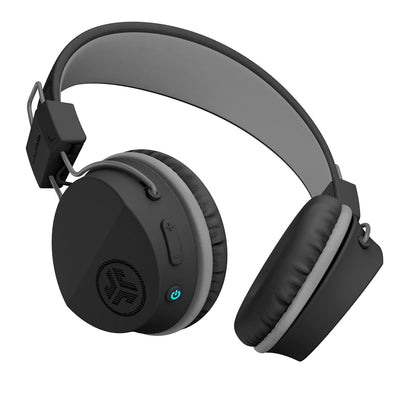Neon Bluetooth Wireless On-Ear Headphones mustassa