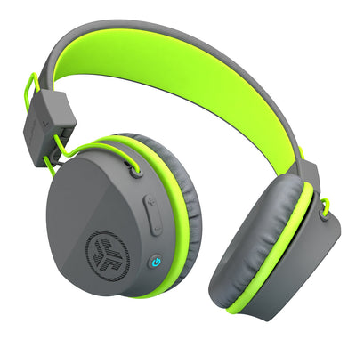 Neon Bluetooth Wireless On-Ear Headphones vihreänä