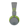 Neon Bluetooth Wireless On-Ear Headphones em verde
