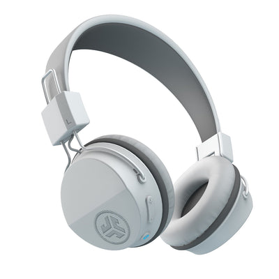 Neon Bluetooth Wireless On-Ear Headphones en blanco