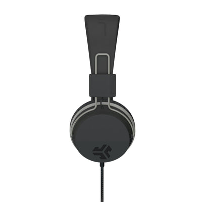Neon On-Ear Headphones de preto