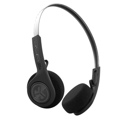 Rewind Wireless Retro Headphones tout noir