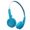 Rewind Wireless Retro Headphones in blauw