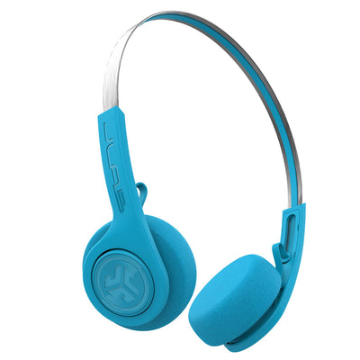 Rewind Wireless Retro Headphones en azul