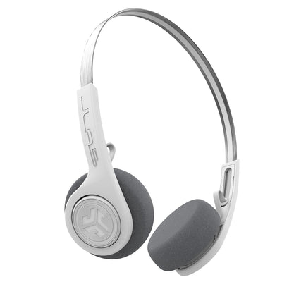 Rewind Wireless Retro Headphones en blanco